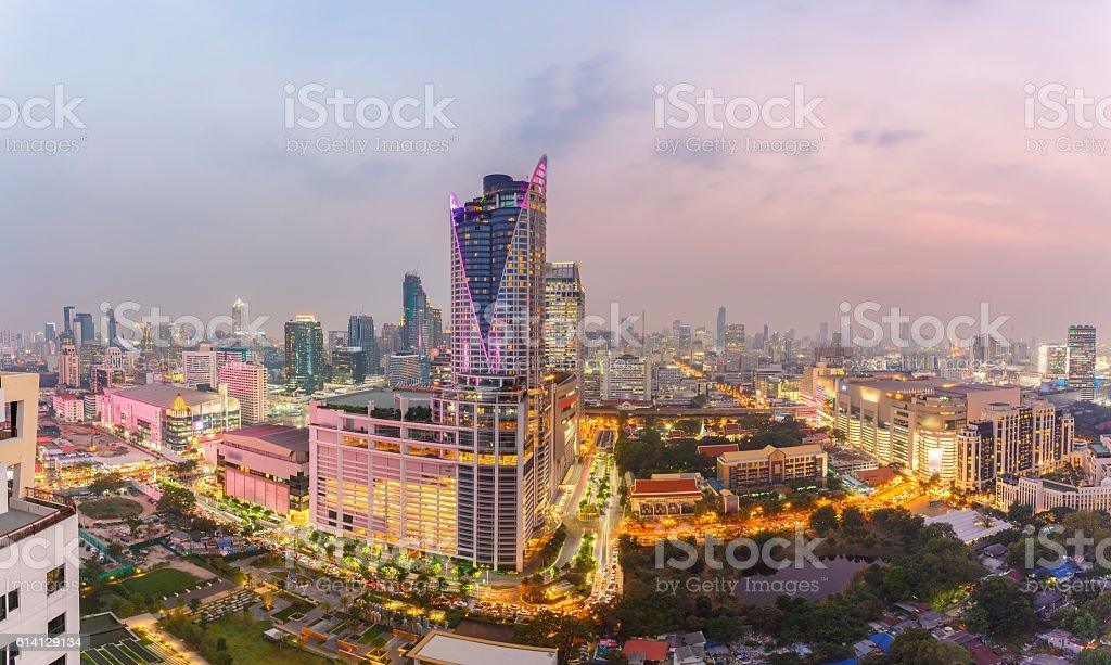 Bangkok Shopping Mall. stock photo