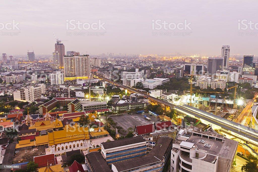 Bangkok Skyline royalty-free stock photo
