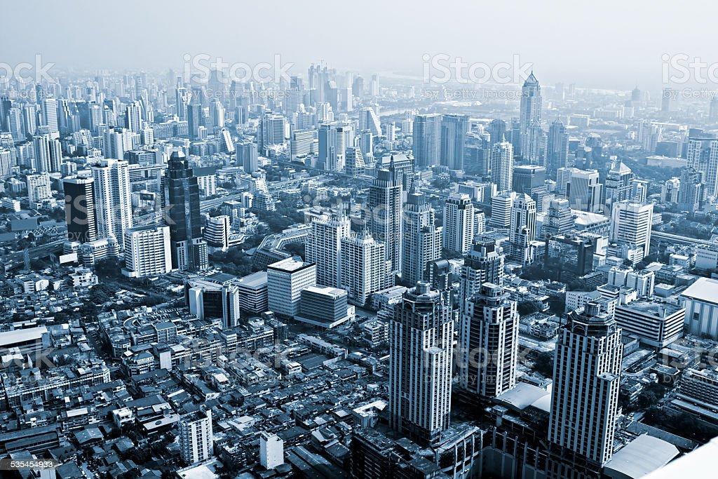 Skyline von Bangkok, Thailand. – Foto