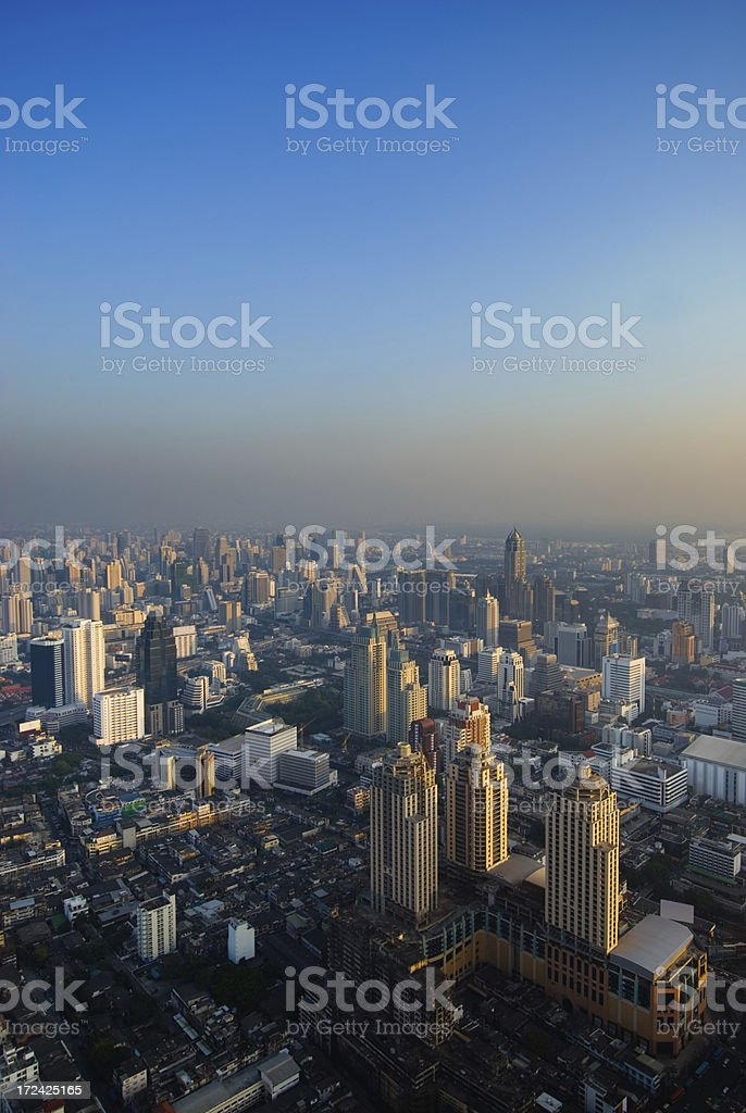 Bangkok Skyscrapers royalty-free stock photo