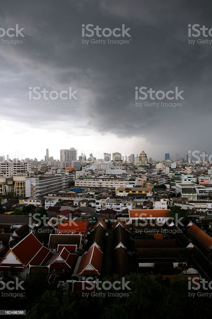 Bangkok Storm stock photo