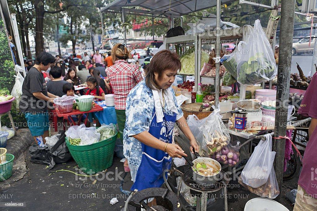 Bangkok Street Food stock photo
