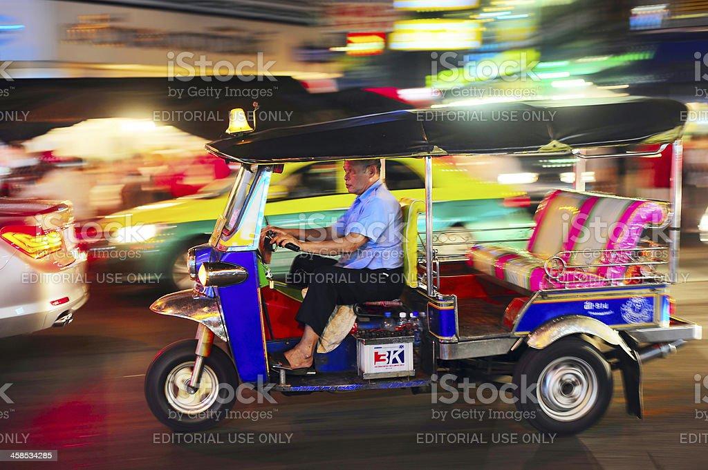 Bangkok taxi royalty-free stock photo