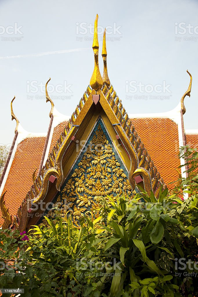 Bangkok Temple royalty-free stock photo