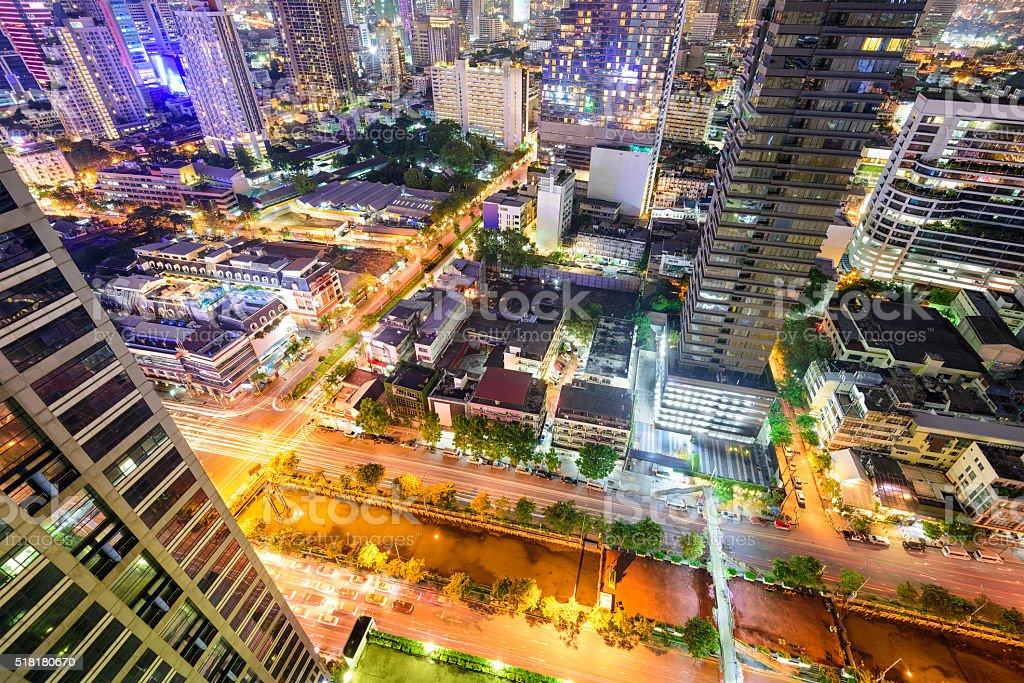 Bangkok Thailand Cityscape stock photo