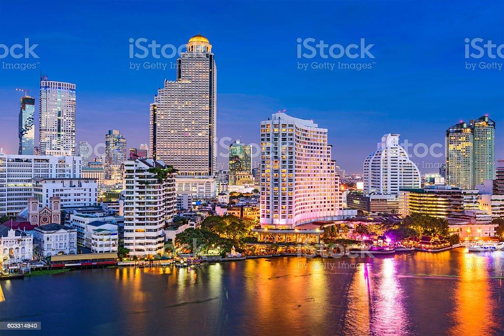Bangkok, Thailand Cityscape stock photo