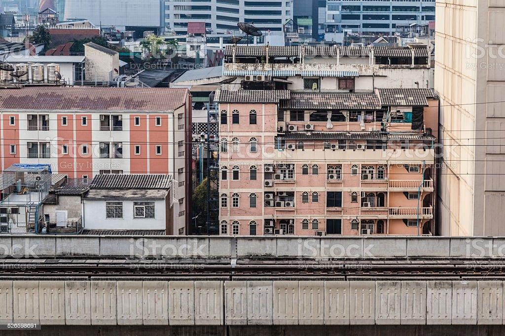 Bangkok tracks stock photo