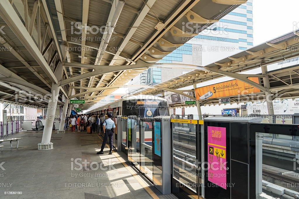 Bangkok Transportation stock photo