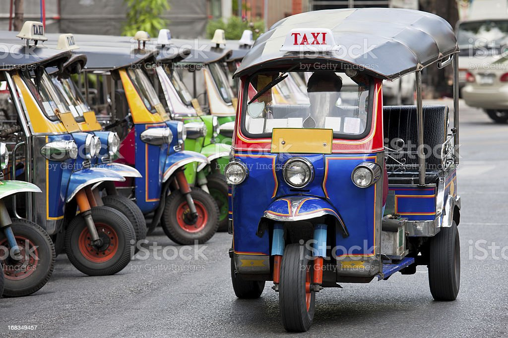 Bangkok Tuk-tuk. royalty-free stock photo