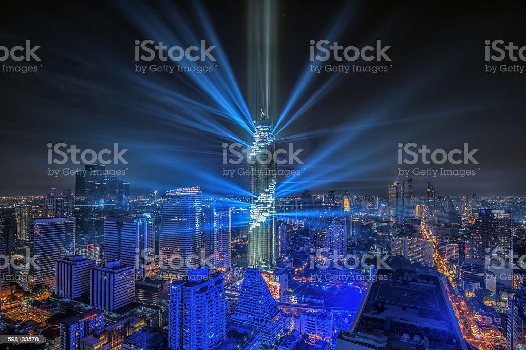 Bangkok view stock photo