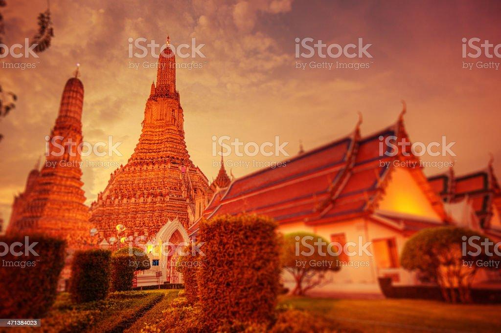 Bangkok, Wat Arun royalty-free stock photo