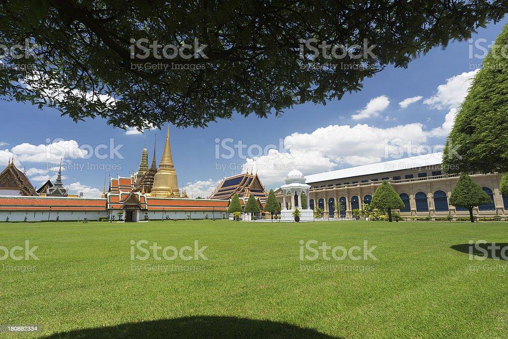 Bangkok, Wat Phra Kaeo royalty-free stock photo