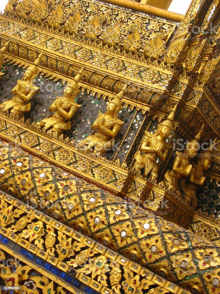 bangkoks grand palace royalty-free stock photo