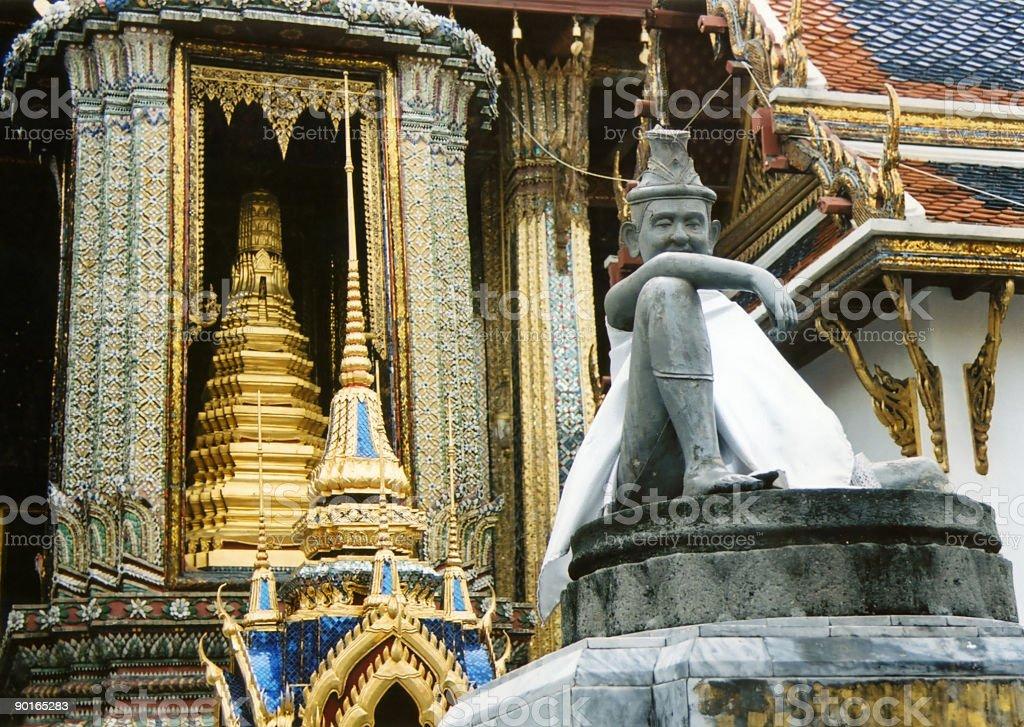 bangkoks grand palace thailand landmarks royalty-free stock photo