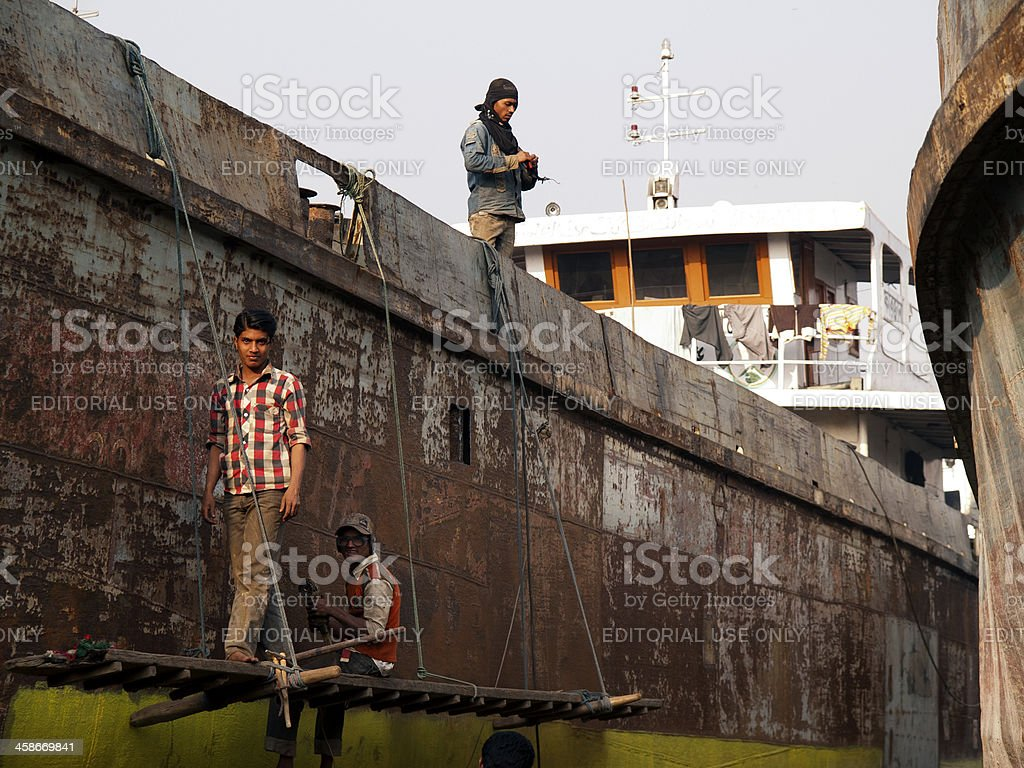 Bangladesh child labour remains social norm royalty-free stock photo