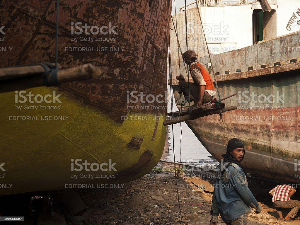 Bangladesh child labour remains social norm stock photo