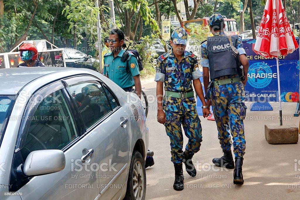Bangladesh cracks down on Islamist militants stock photo