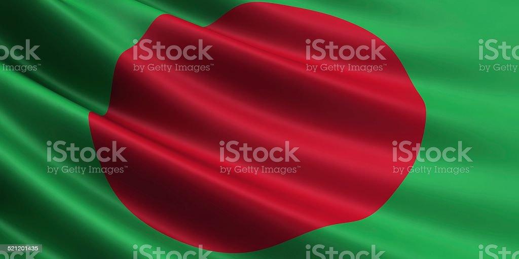 Bangladesh flag. royalty-free stock photo