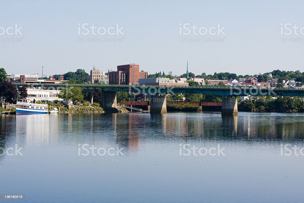 Bangor, Maine stock photo