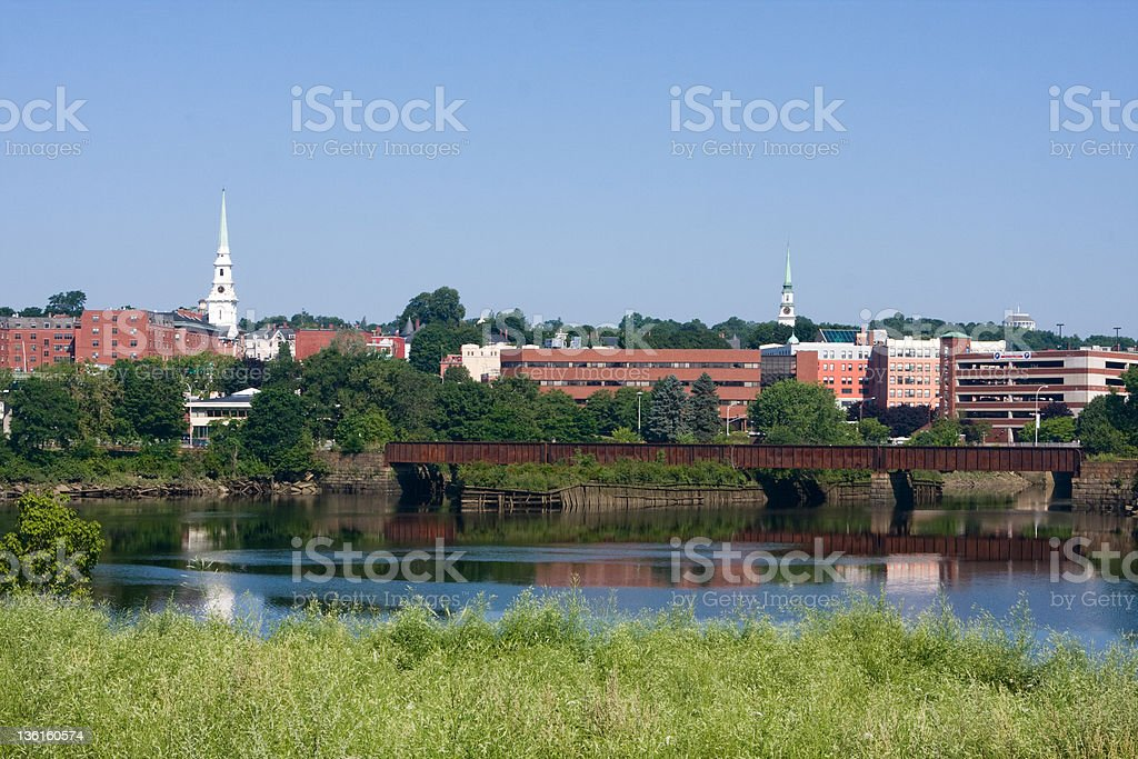 Bangor stock photo