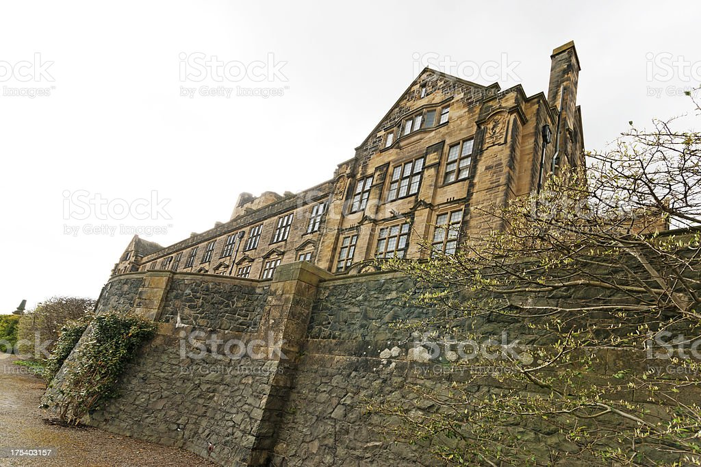 Bangor University stock photo