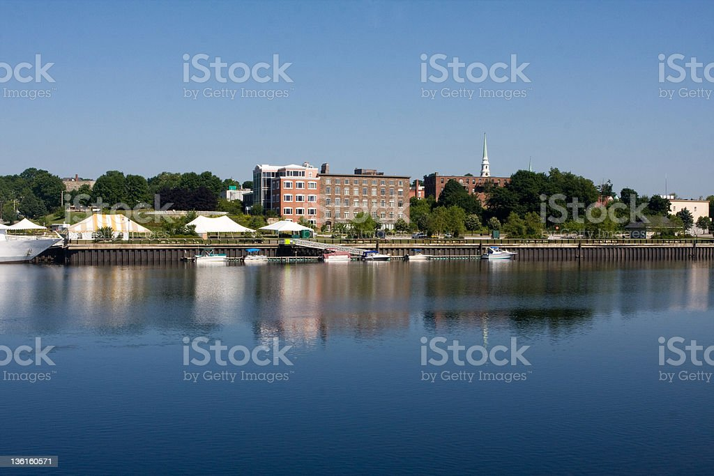 Bangor Waterfront stock photo