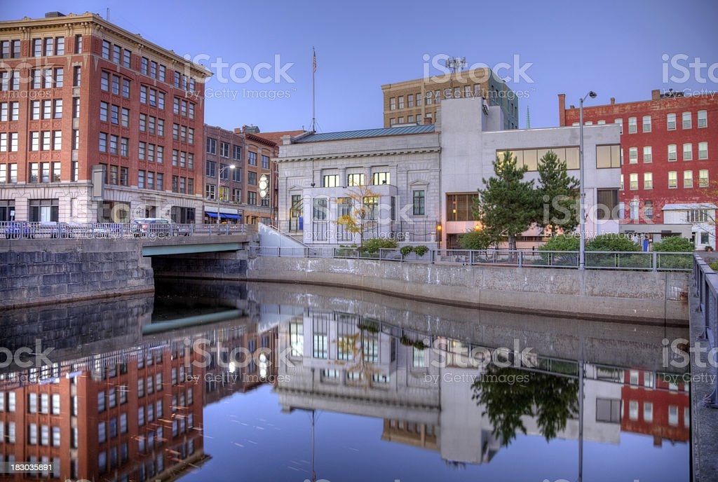 Bangor,Maine stock photo