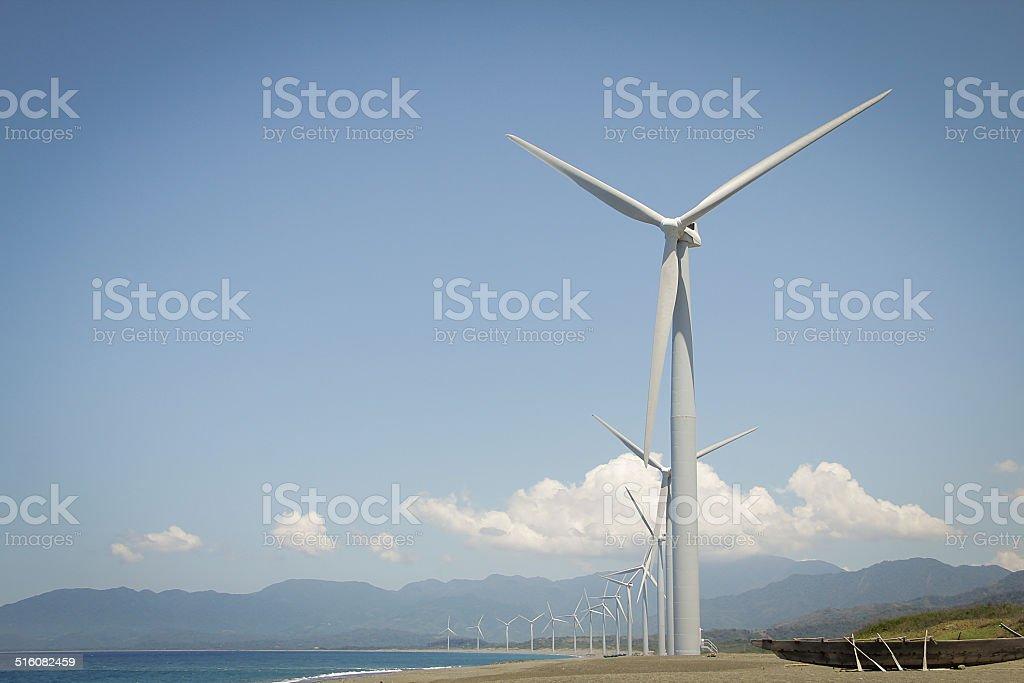 Bangui Windmills - Stock Image stock photo