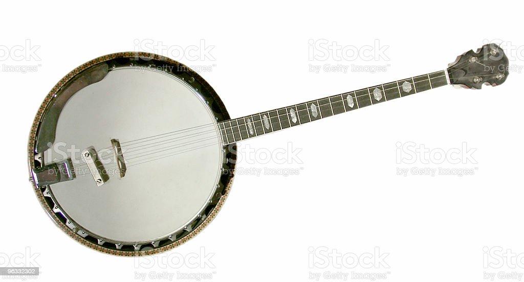 Banjo - 4 string stock photo