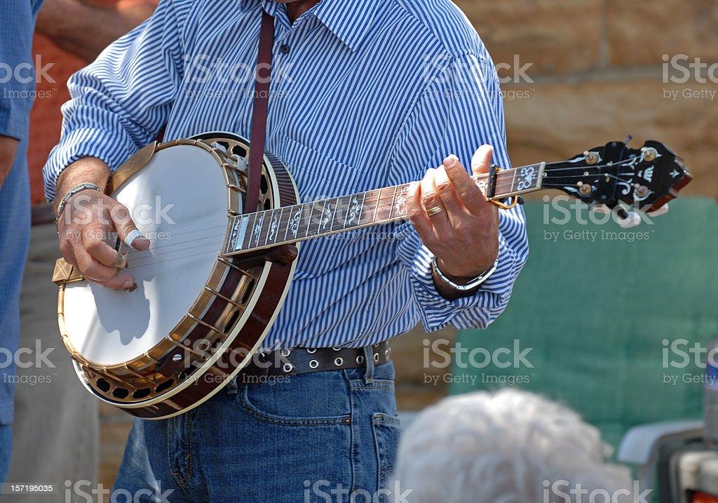 Banjo Picker stock photo
