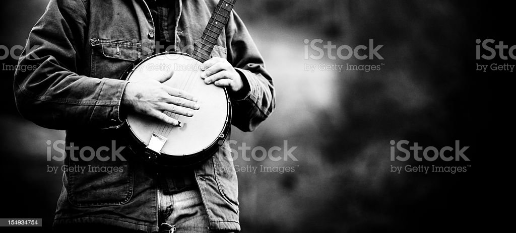 Banjo royalty-free stock photo