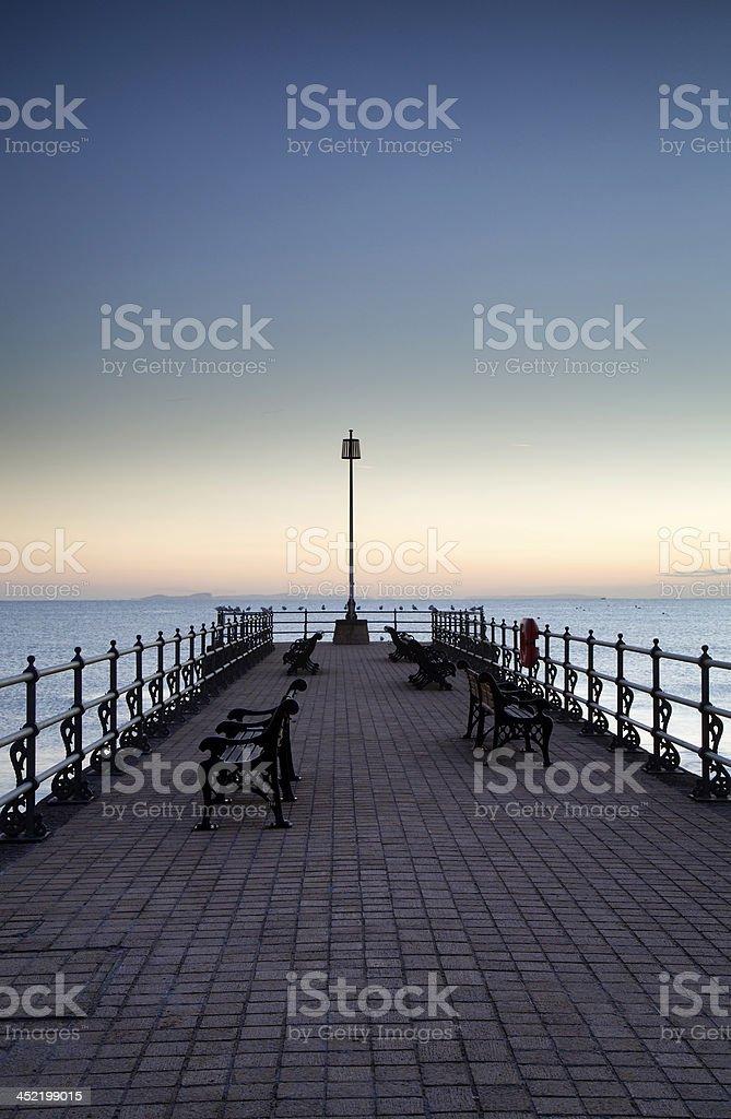 Banjo Pier stock photo