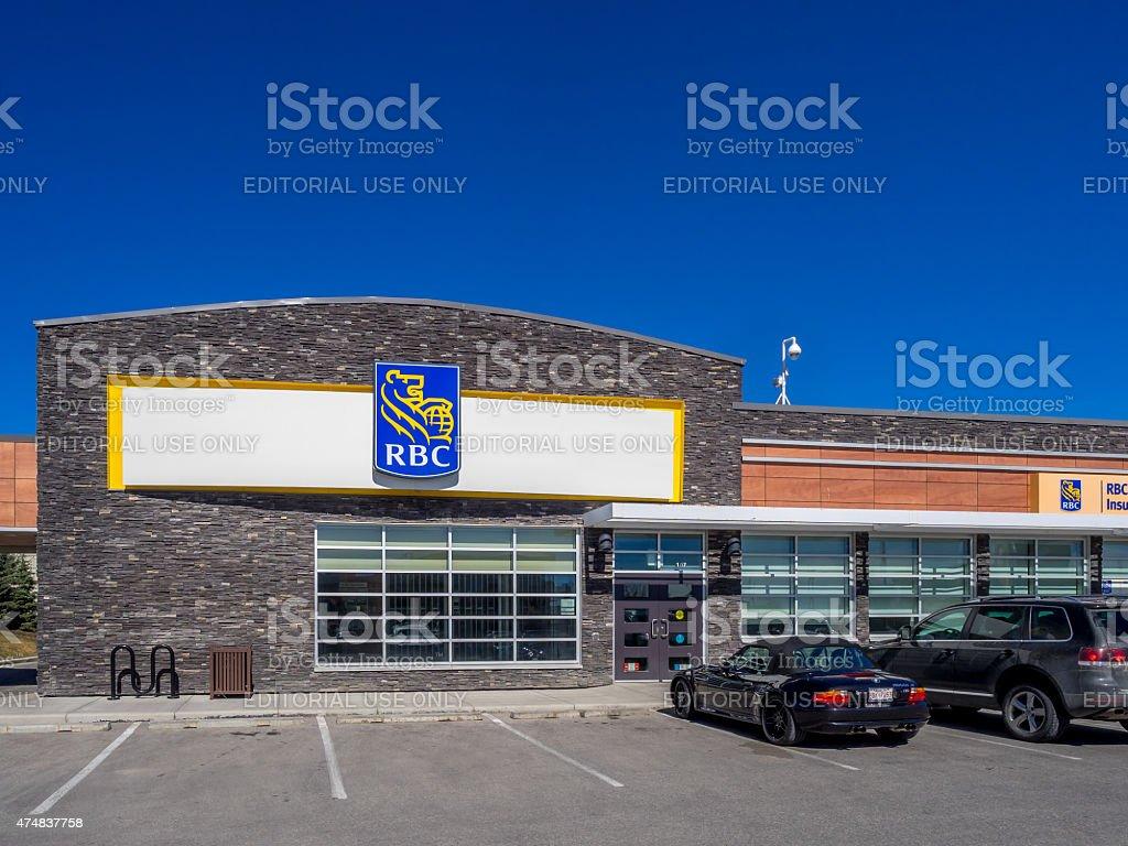RBC Bank branch stock photo