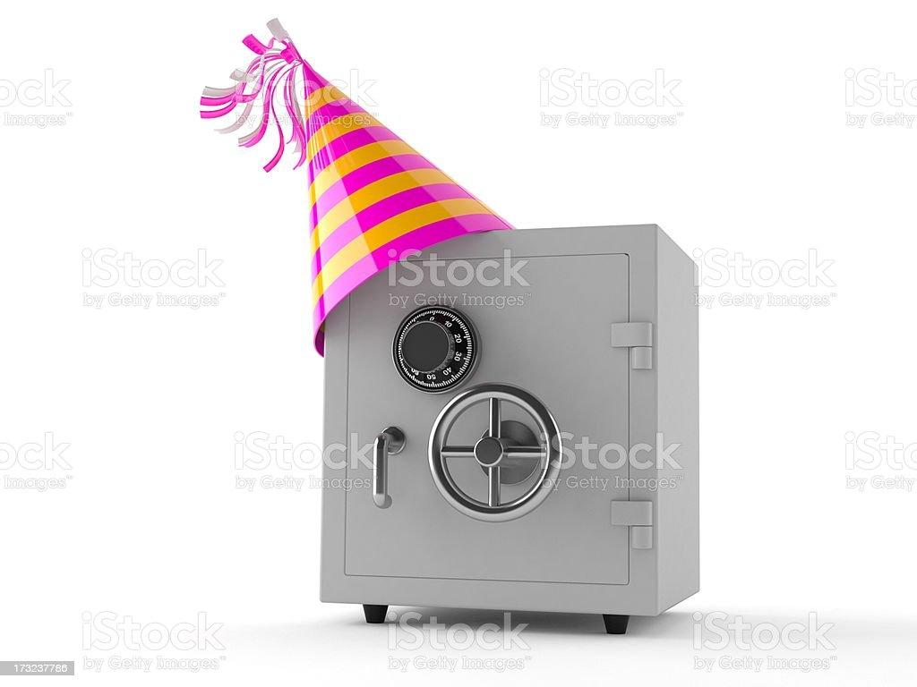 Bank celebration royalty-free stock photo