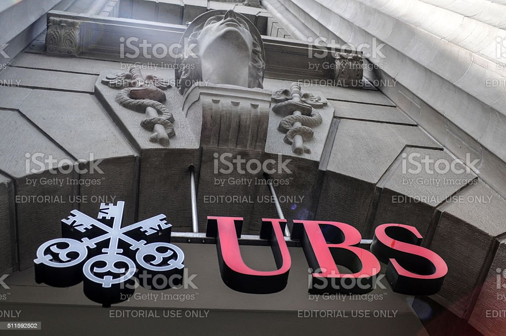 UBS Bank / Detail stock photo