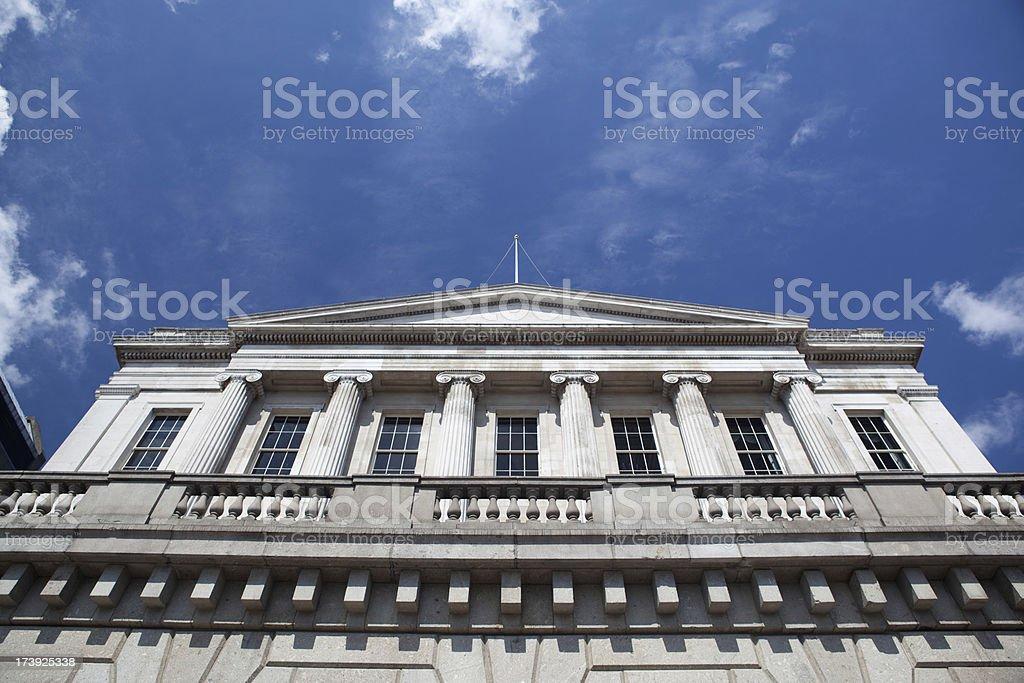 Bank exterior royalty-free stock photo