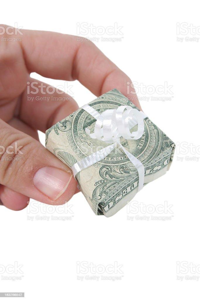 Bank Gift royalty-free stock photo
