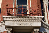Bank in Small Town Kansas