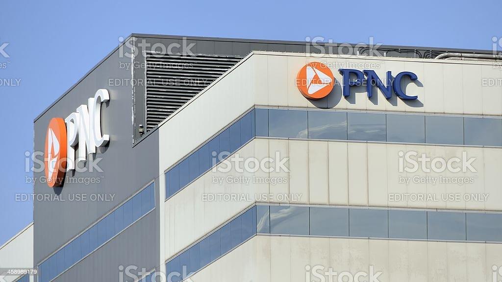 PNC Bank, Lansing, Michigan stock photo