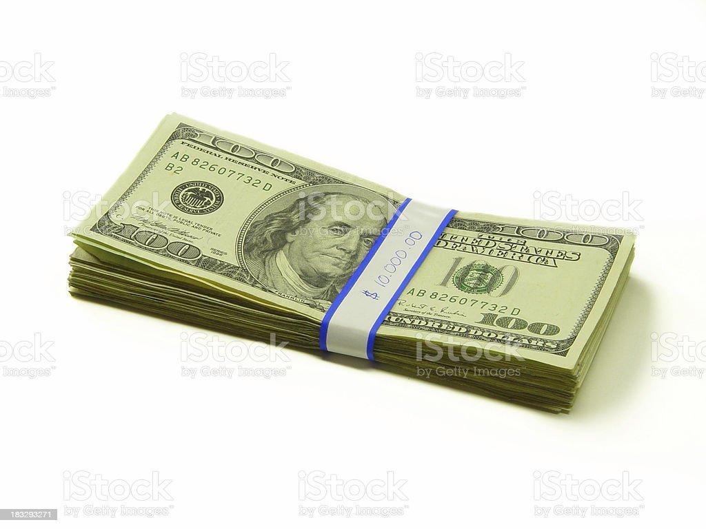 Bank Money royalty-free stock photo