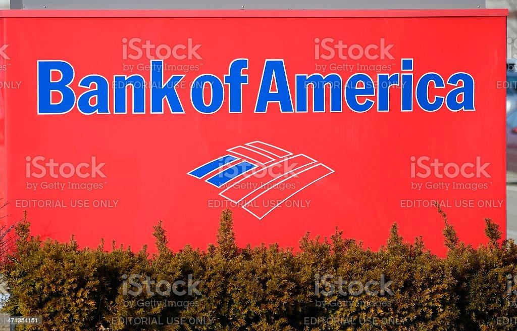 Bank of America stock photo