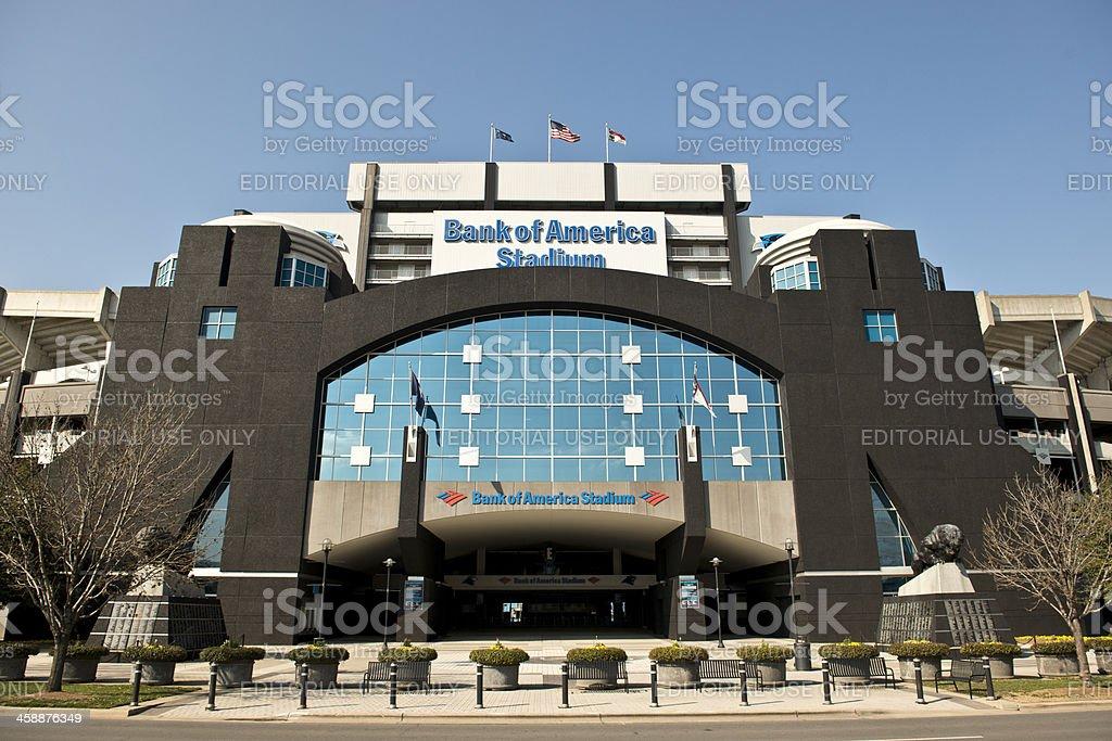 Bank of America Stadium stock photo