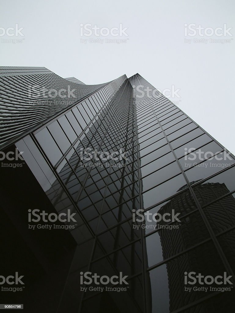 Bank of America Tower 2 royalty-free stock photo