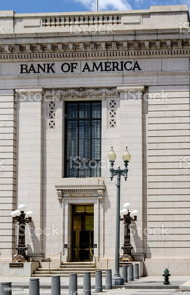Bank of America, Washington DC stock photo