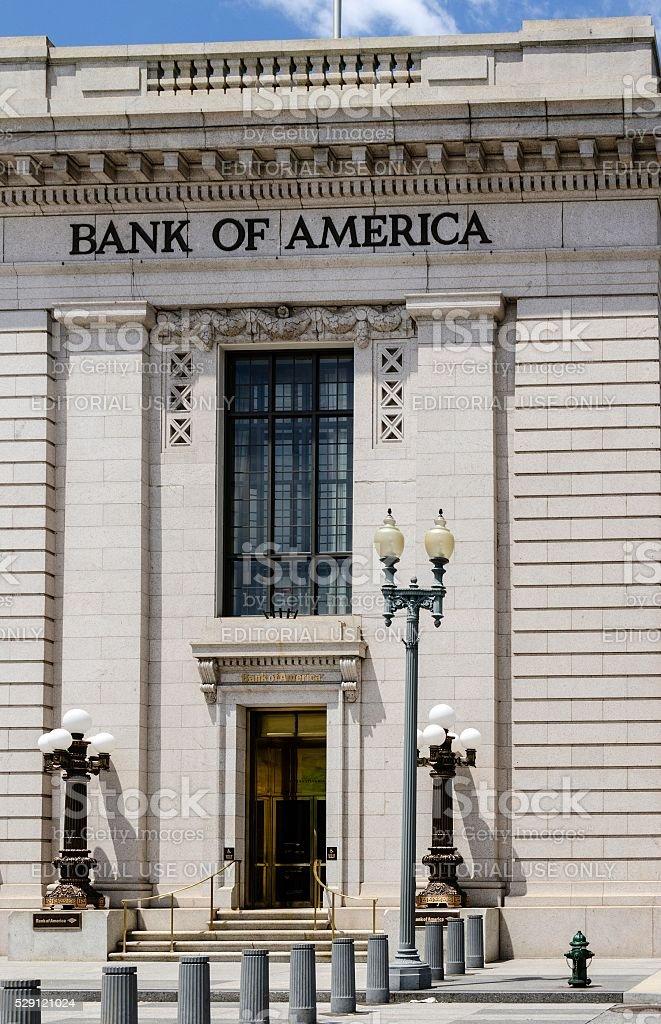 Bank of America, Washington DC stock photo