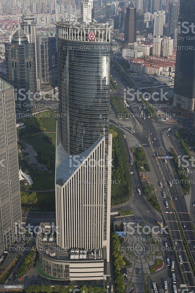 Bank of China Tower royalty-free stock photo
