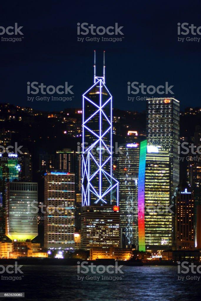 Bank of China Tower stock photo