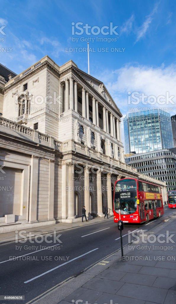 Bank of England, London, England 22nd October 2016 stock photo