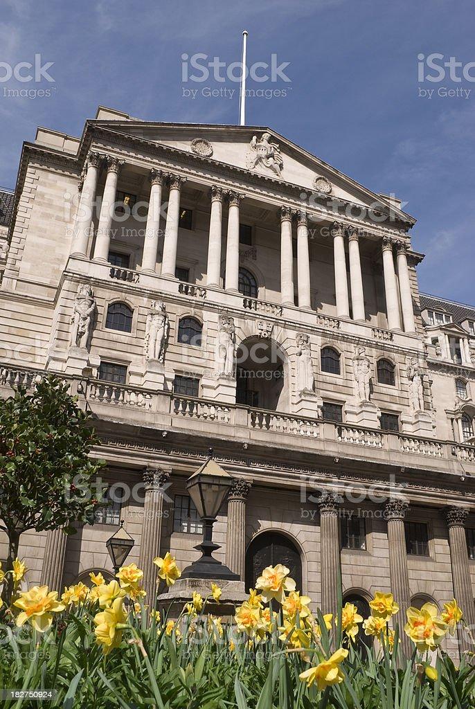 Bank of England, London royalty-free stock photo