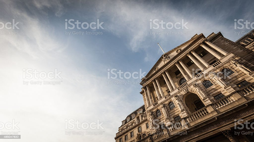 Bank of England, London stock photo